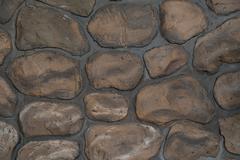 Wall round stone rock texture Kuvituskuvat