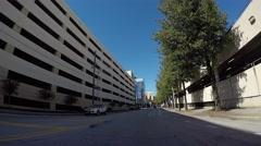 Downtown Atlanta Vehicle Shot TIme Lapse Stock Footage