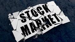 Stock Market Crash Stock Footage