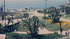 Los Angeles 1977:  Marineland of the Pacific oceanorium Stock Footage