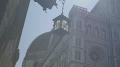 Hanging Lantern Firenze Florence Italy - 29,97FPS NTSC Stock Footage