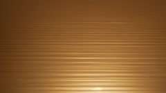 Golden reflection on water Stock Footage
