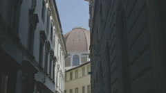 Shady Street in Florence - 29,97FPS NTSC Stock Footage