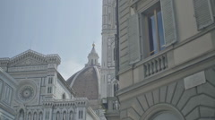 Piazza San Giovanni Florence Italy - 29,97FPS NTSC Stock Footage