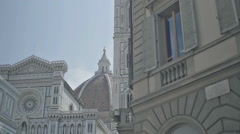 Piazza San Giovanni Florence Italy - 25FPS PAL Stock Footage