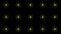 Fractal VJ projection storm flower  Stock Footage