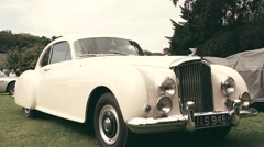 Bentley S2 Continental by Mulliner 1959 vintage classic car Stock Footage