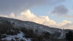 Mount Hermon Hills view Stock Footage