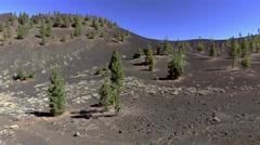 Teide Volcano, aerial view of Tenerife Stock Footage