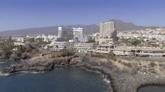 Playa de las Americas in Tenerife, Canary Islands Stock Footage