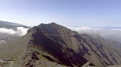 Mountains of Tenerife, Canary Islands Stock Footage