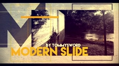 Modern Slide Stock After Effects