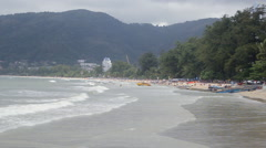 Patong Beach, Phuket Island, Thailand Stock Footage