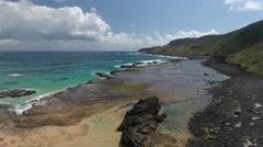 Exotic Brazilian Rocky Beaches Stock Footage