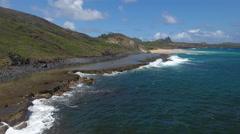 Exotic Brazilian Rocky Beaches 007 Stock Footage