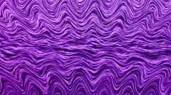 Abstract waves background with hypnotic effect Stock Footage