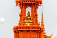 Buddha statue buddha image used as amulets of Buddhism religion Stock Photos