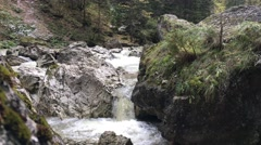 The Bicaz Gorge a gorge Stock Footage