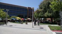 Googleplex Silicon Valley Stock Footage