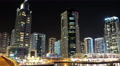 UHD 4K Dubai Marina night zoom time lapse, United Arab Emirates 4k or 4k+ Resolution