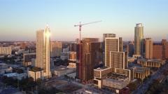Downtown Austin, Texas Skyline Pan Stock Footage