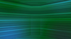 Broadcast Horizontal Hi-Tech Lines Dome, Green, Abstract, Loopable, 4K Stock Footage