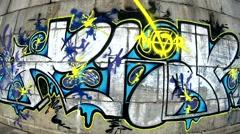 Graffiti video vol. 4 Stock Footage