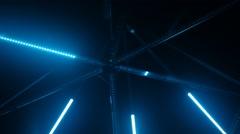 Laser show lights in Resort Stock Footage