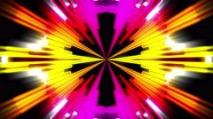 Flickering Fast Music Kaleidoscope Equaliser Background Stock Footage