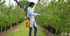 Experts in laboratory research. concept of agro research and the future Stock Footage