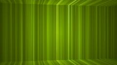 Broadcast Vertical Hi-Tech Lines Passage, Green, Abstract, Loopable, 4K Stock Footage