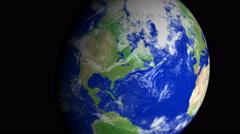 4K Earth Zoom: Columbus – USA Stock Footage