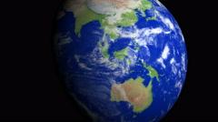 4K Earth Zoom: Jakarta – Indonesia Stock Footage