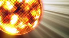 3d rendering of party lights disco ball Piirros