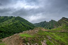 Mountain landscape in Dagestan Stock Photos