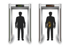 Frame metal detector portal Piirros