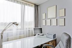 Home office in luxurious style Kuvituskuvat