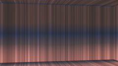 Broadcast Vertical Hi-Tech Lines Passage, Brown, Abstract, Loopable, 4K Stock Footage