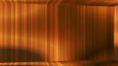 Broadcast Vertical Hi-Tech Lines Passage, Golden, Abstract, Loopable, 4K Stock Footage