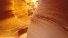 Arizona Slot Canyon Hiking Time Lapse Stock Footage