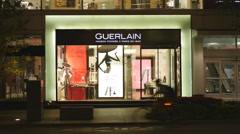 Guerlain boutique on Bloor Street, Toronto, Canada. Stock Footage