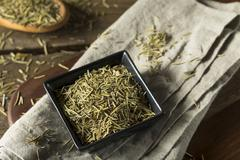Raw Dry Organic Rosemary Seasoning Stock Photos