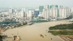 SAIGON, VIETNAM - Hochiminh, Vietnam. Timelapse Stock Footage
