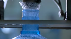 Splashes of water in slow-mo. Stock Footage