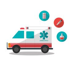 Medical and Health care design Stock Illustration