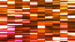 Twinkling Horizontal Small Squared Hi-Tech Bars, Multi Color, Abstract, Loop, 4K Stock Footage