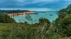 Port of Cancale Stock Footage