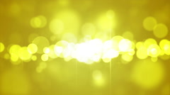 Fairy Bokeh Lights Loopable Background Stock Footage