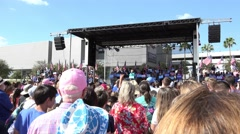 Hillary Clinton Speaks About Diversity And Respect At Rally In Tampa Stock Footage