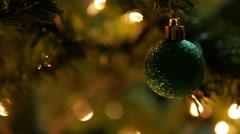 Christmas Decorate Stock Footage